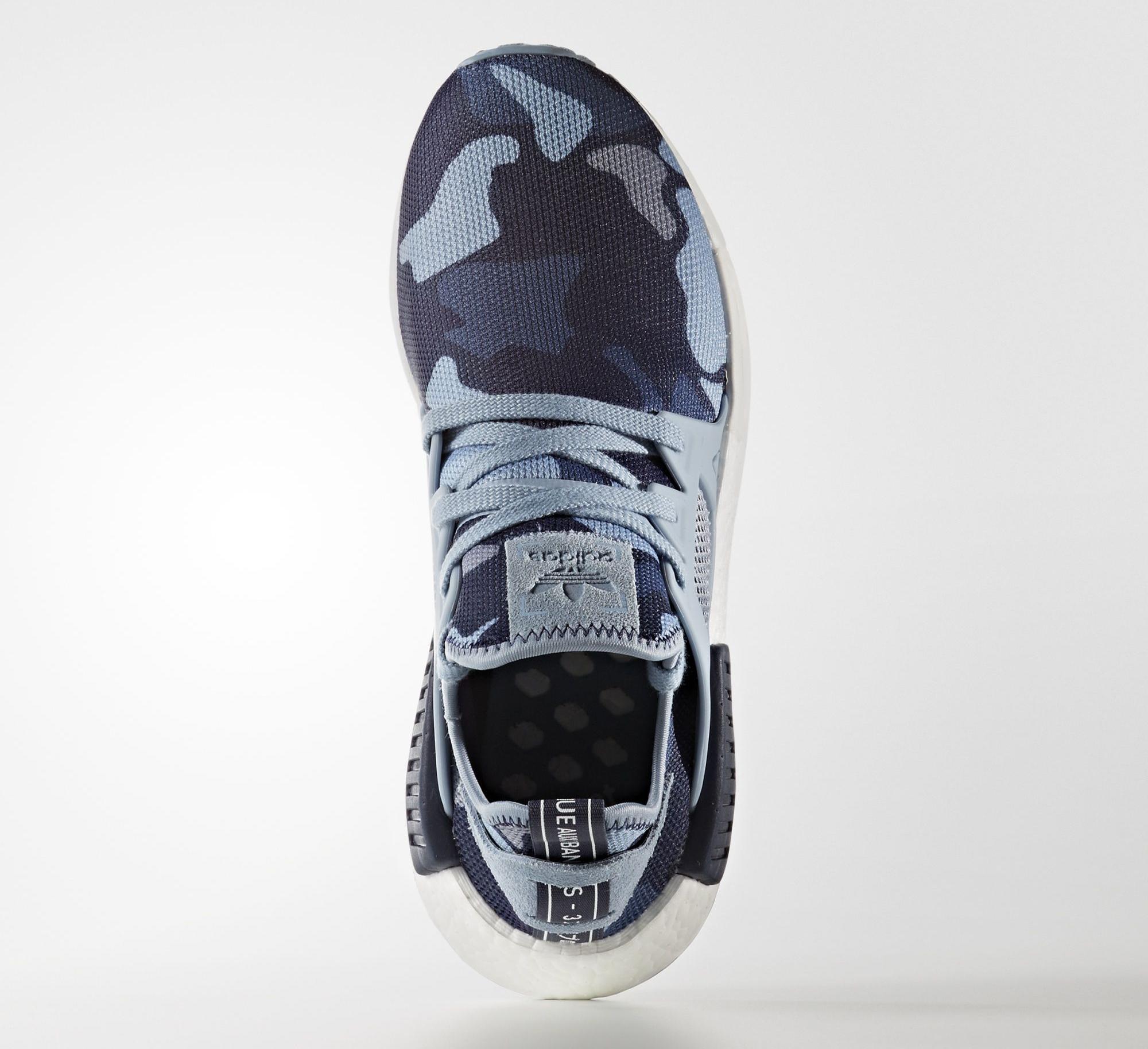 0bf64dfde Image via Adidas Adidas NMD XR1 Blue Camo Top