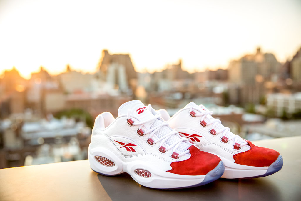 Reebok Question Low White/Red (3)