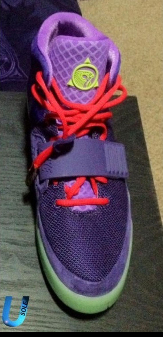 check out 7e765 7fe77 nike air yeezy 2 purple gold .