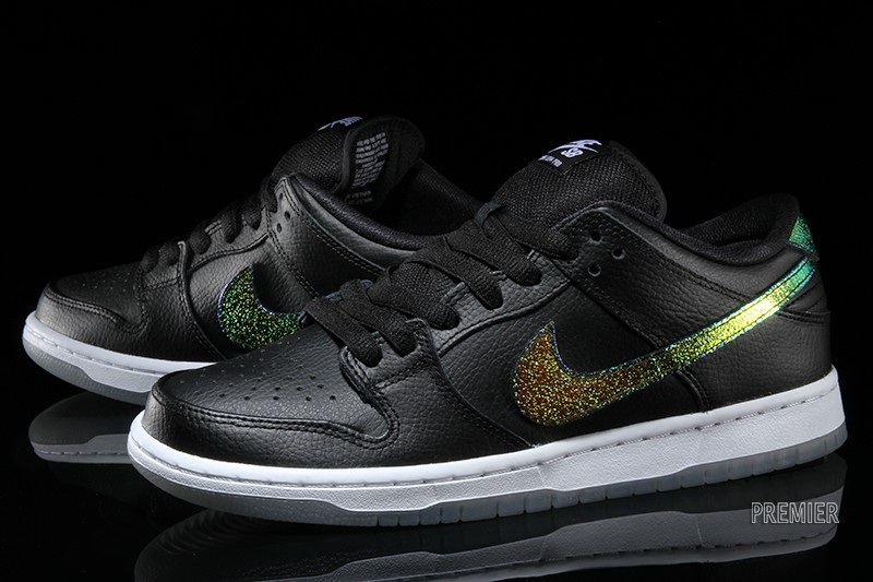 Nike SB Dunk Low Color  Black White Multi-Color Style    304292-091. Price    90 442be35c78