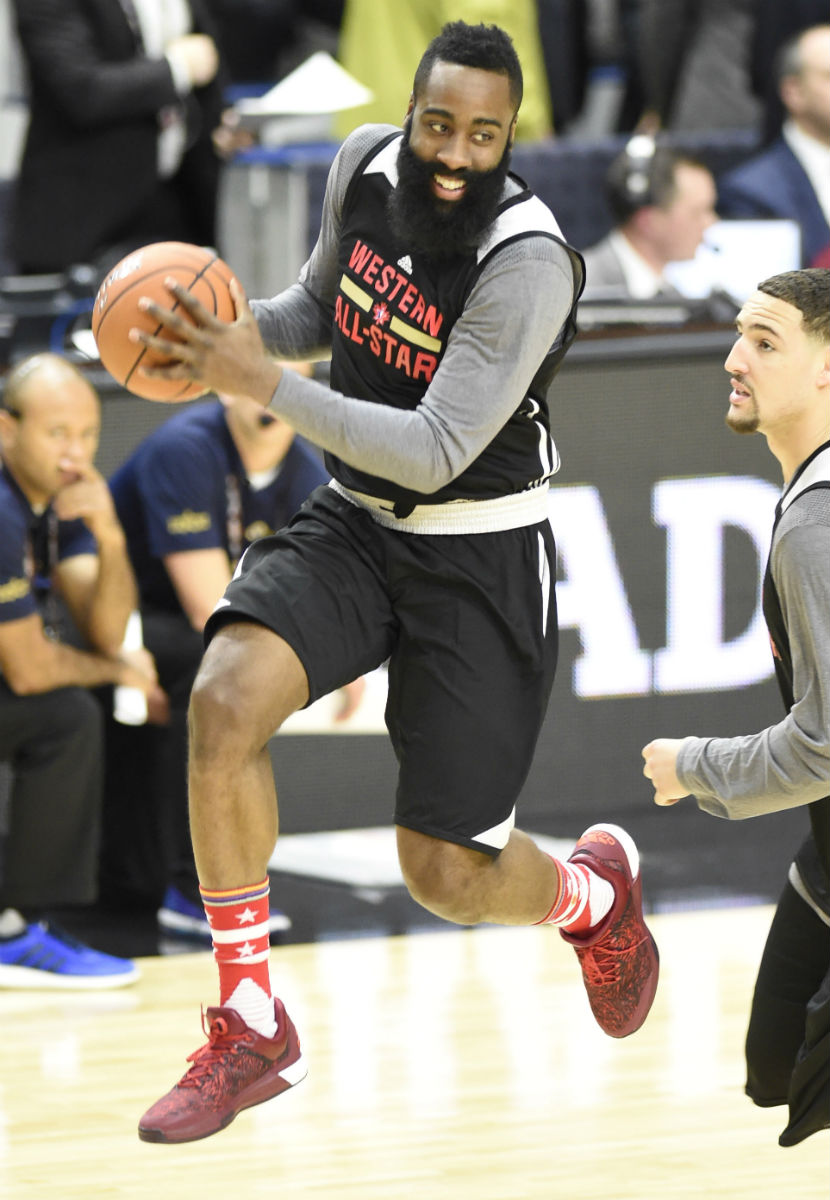 cc8f5f62d336 SoleWatch  Sneakers Spotted During NBA All-Star Practice