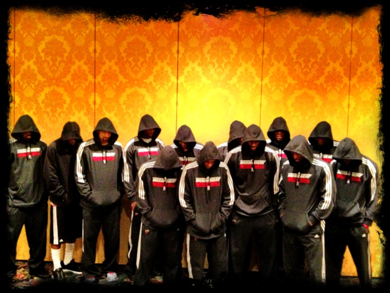 Miami Heat Trayvon Martin Tribute Photo
