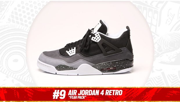 Complex Best of 2013: Air Jordan 4 'Fear' is the #9 Sneaker of the Year