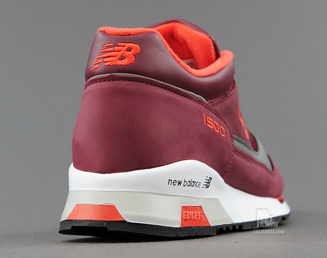 wholesale dealer 4804a a26a6 New Balance 1500 - Burgundy Orange