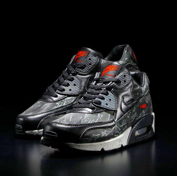 online store af5d0 d0081 Nike Air Max 90 Premium Atmos Black Tiger Camo