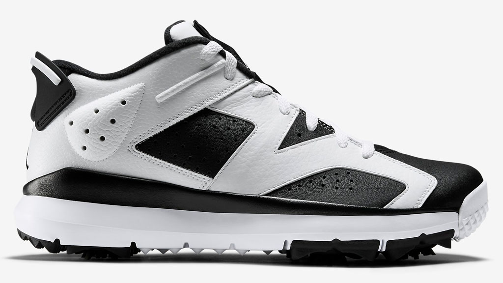 Air Jordan 6 Golf White/Black Release Date 800657-110