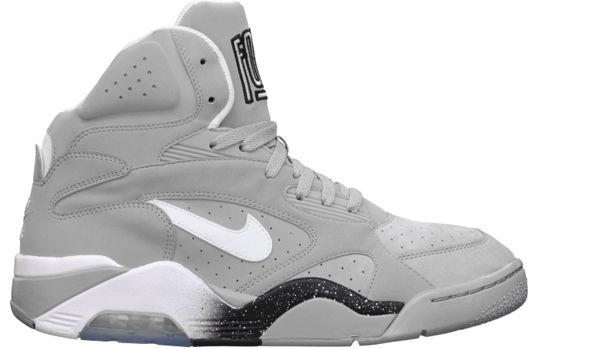 Nike Air Force 180 Mid Wolf Grey/White-Black