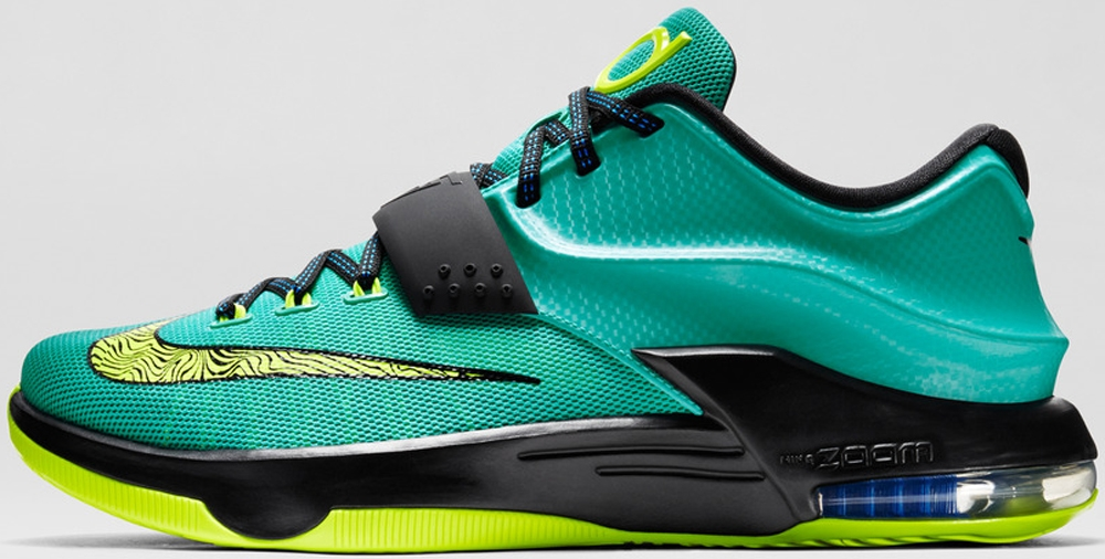 Nike KD VII Hyper Jade/Black-Photo Blue-Volt