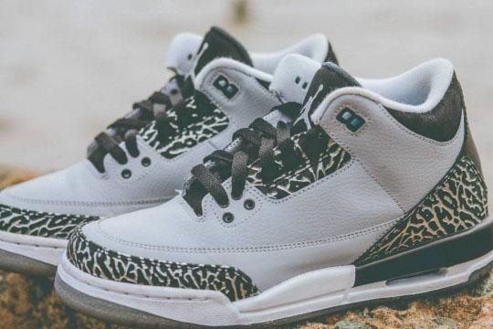 Air Jordan Iii 3 Wolf Grey Gs Gradeschool 8
