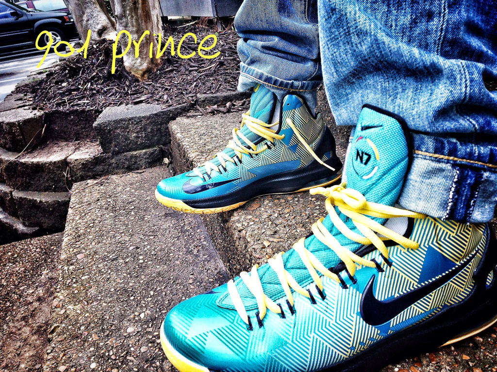 new style 752e2 272db Nike KD V N7 On-Foot 599294-447