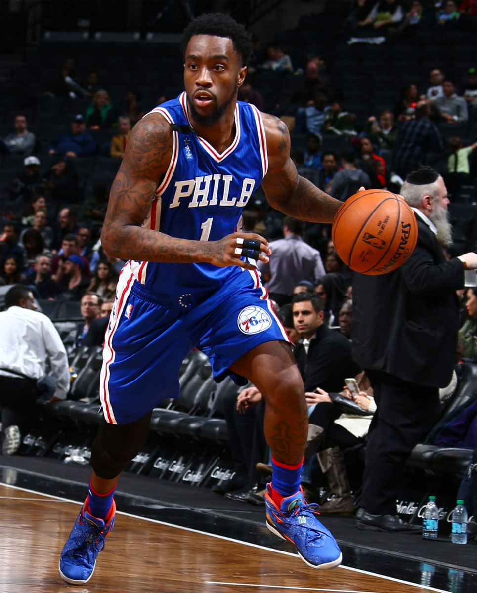 f1052fdce1d9 SoleWatch  Tony Wroten Wears the  Doernbecher  Air Jordan 8