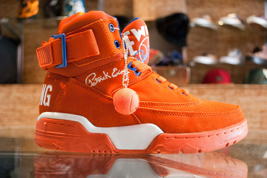 Ewing Athletics 33 Hi Orange