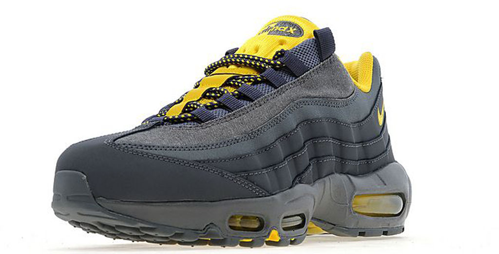 Air Max 95 Black Grey Yellow