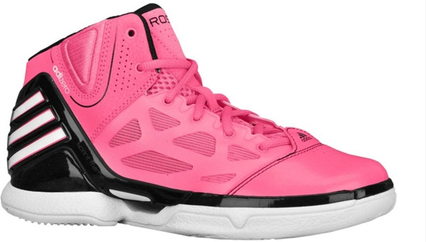adidas adiZero Rose 2.5 Girl's Pink/Black-Running White