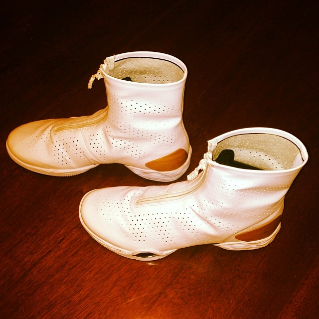 Spike Lee Picks Up Air Jordan XX8 Bamboo
