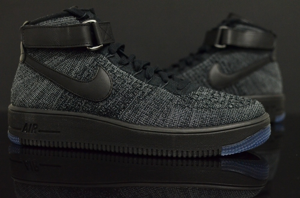 Air Force 1 Low Flyknit Black