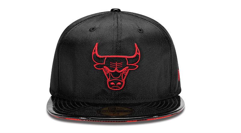 d023ac8ca81 New Era 59FIFTY - Chicago Bulls - Air Jordan XI Black/Red Inspired ...