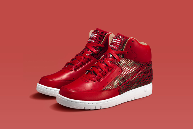 57a38233d4b7 Nike Air Python - Red   Black - New Images