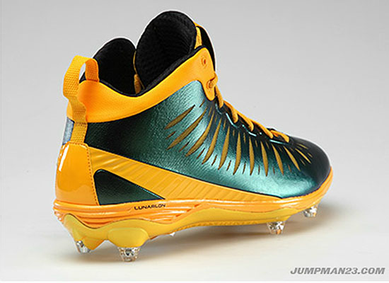 Jordan Super.Fly PE Cleats LaMarr Woodley Pittsburgh Steelers (2)
