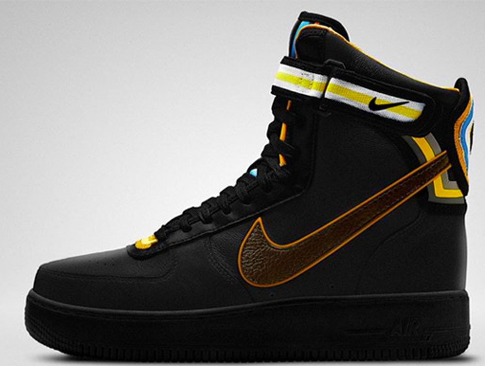 Nike Air Force 1 High Supreme RT Black/Baroque Brown