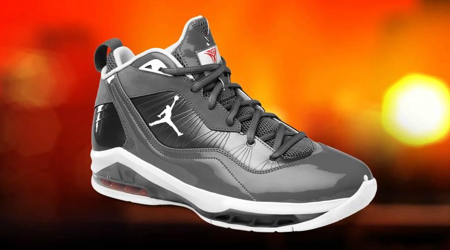 Jordan Melo M8 Cool Grey White Orange Flash 469786-002 1