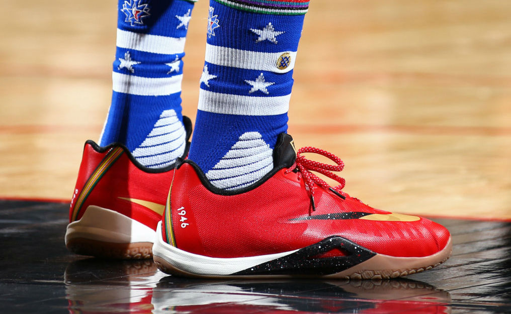 Paul George Wearing the Nike HyperLive (2)
