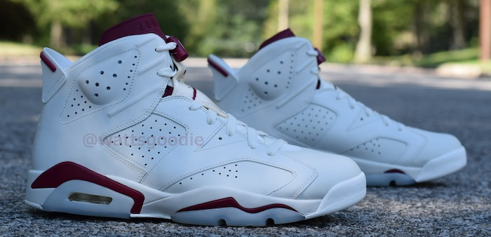Air Jordan 6 Maroon 384664-116 (11)