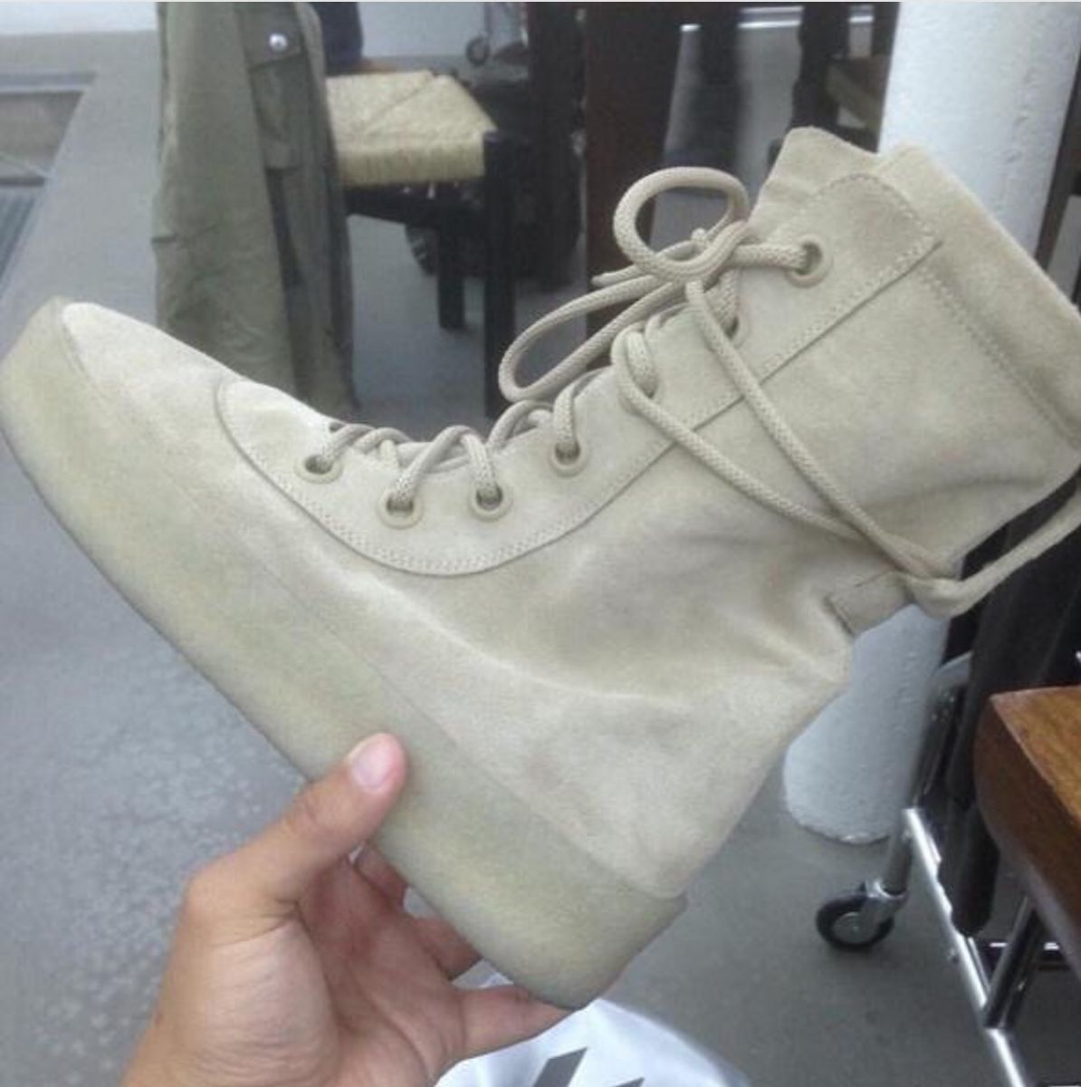 ae2f0775 First Look at Kanye West's Yeezy Season 2 Boots | Sole Collector