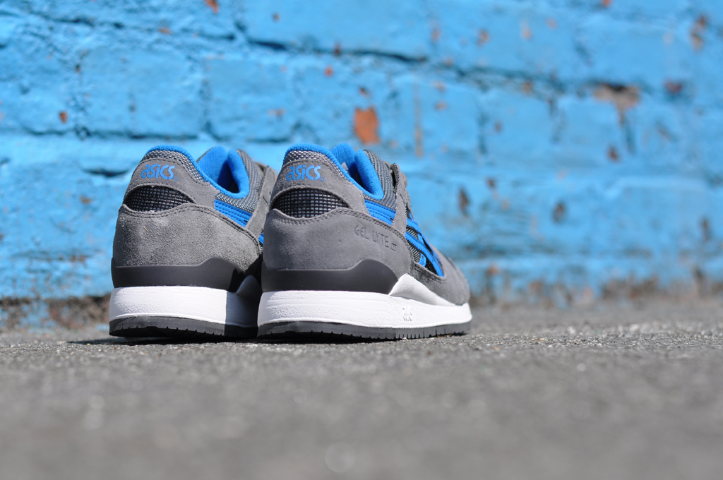 Asics Gel Lyte III Varsity GreyBlue | Sole Collector