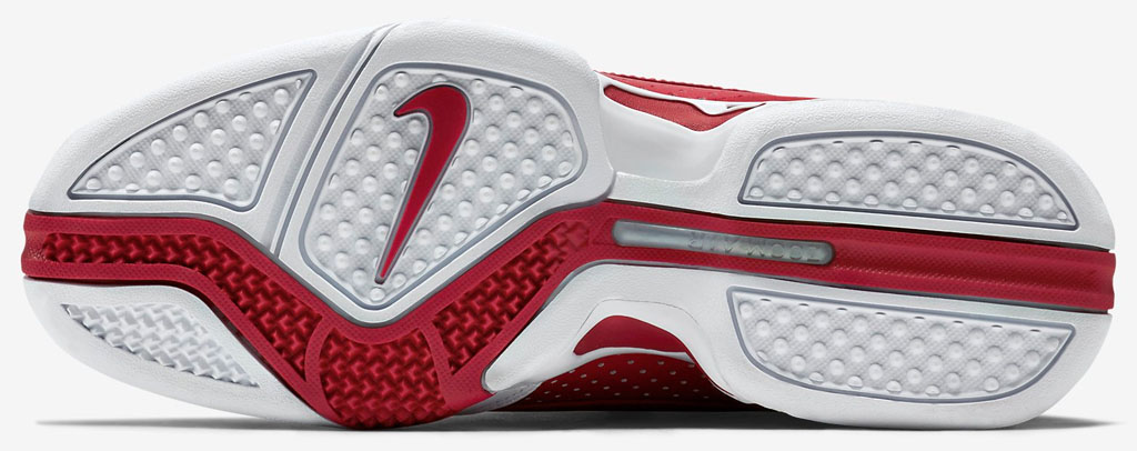 Nike Zoom Vick 2 Falcons White/Red 599446-101 (3)