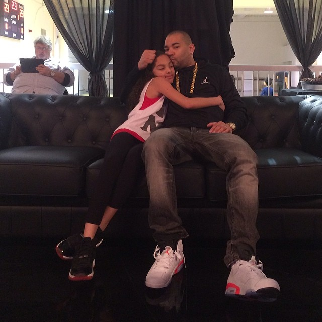 DJ Envy wearing Air Jordan 6 Retro White/Infrared