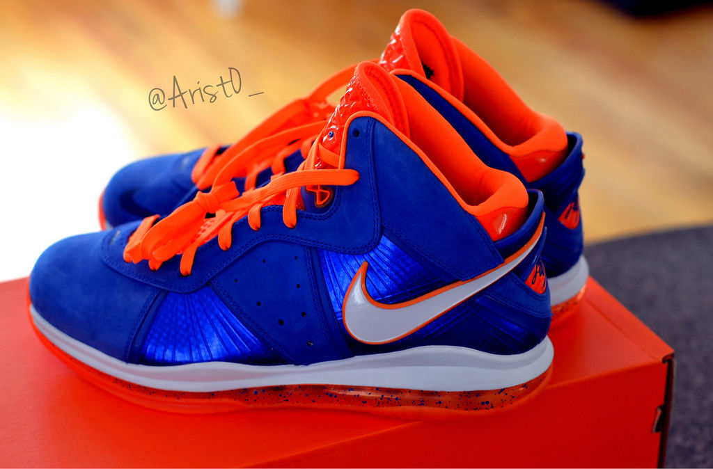 Spotlight // Pickups of the Week 5.26.13 - Nike LeBron 8 HWC Blue Suede by Drastic