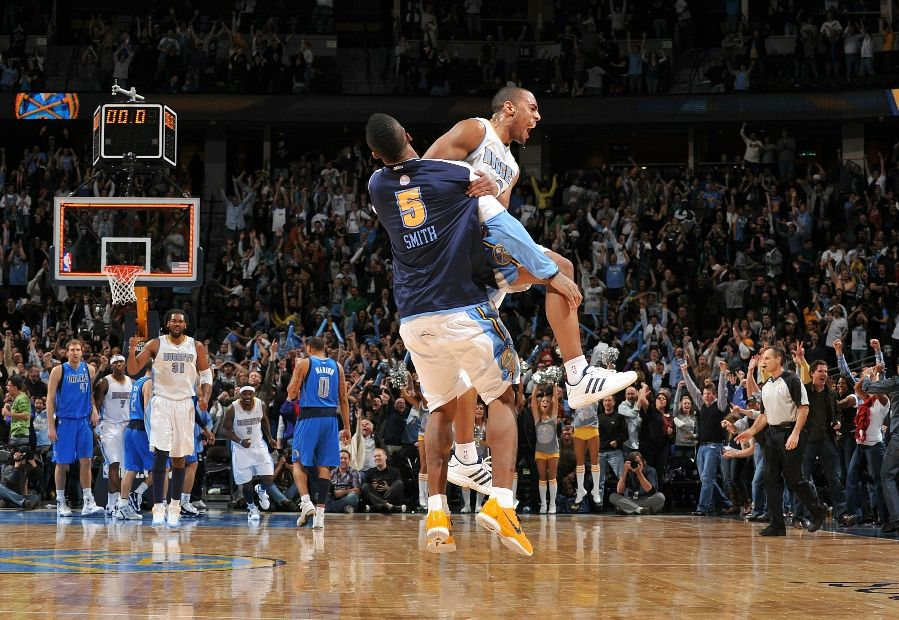 J.R. Smith wearing the Nike Zoom Kobe VI iD; Aaron Afflalo wearing the adidas Superstar 2G