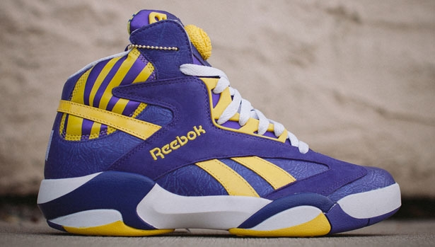 Reebok Shaq Attaq Purple/Yellow-White