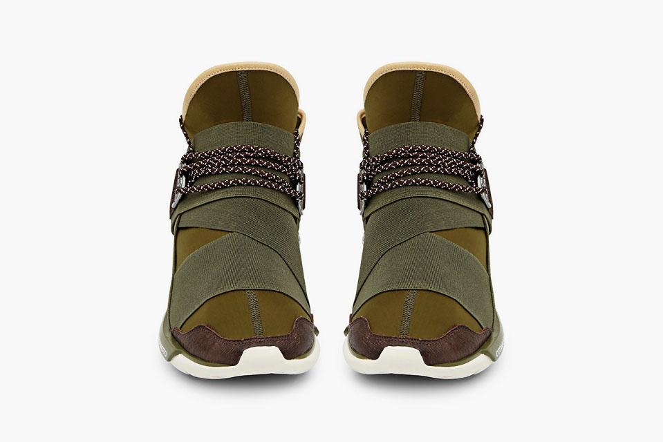 2d4af88769c9 adidas Y-3 Qasa High in Khaki (2)