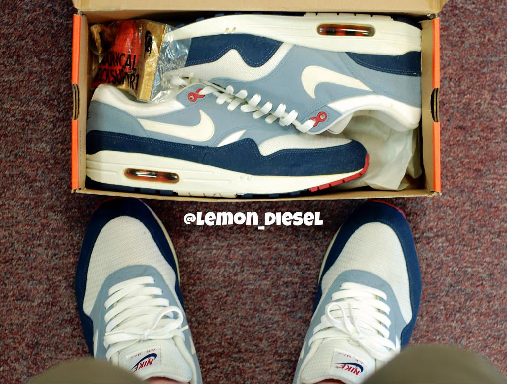 Spotlight // Pickups of the Week 6.9.13 - Nike Air Max 1 Greystone by lemon_diesel