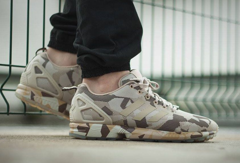 "adidas ZX Flux ""Camo"" 