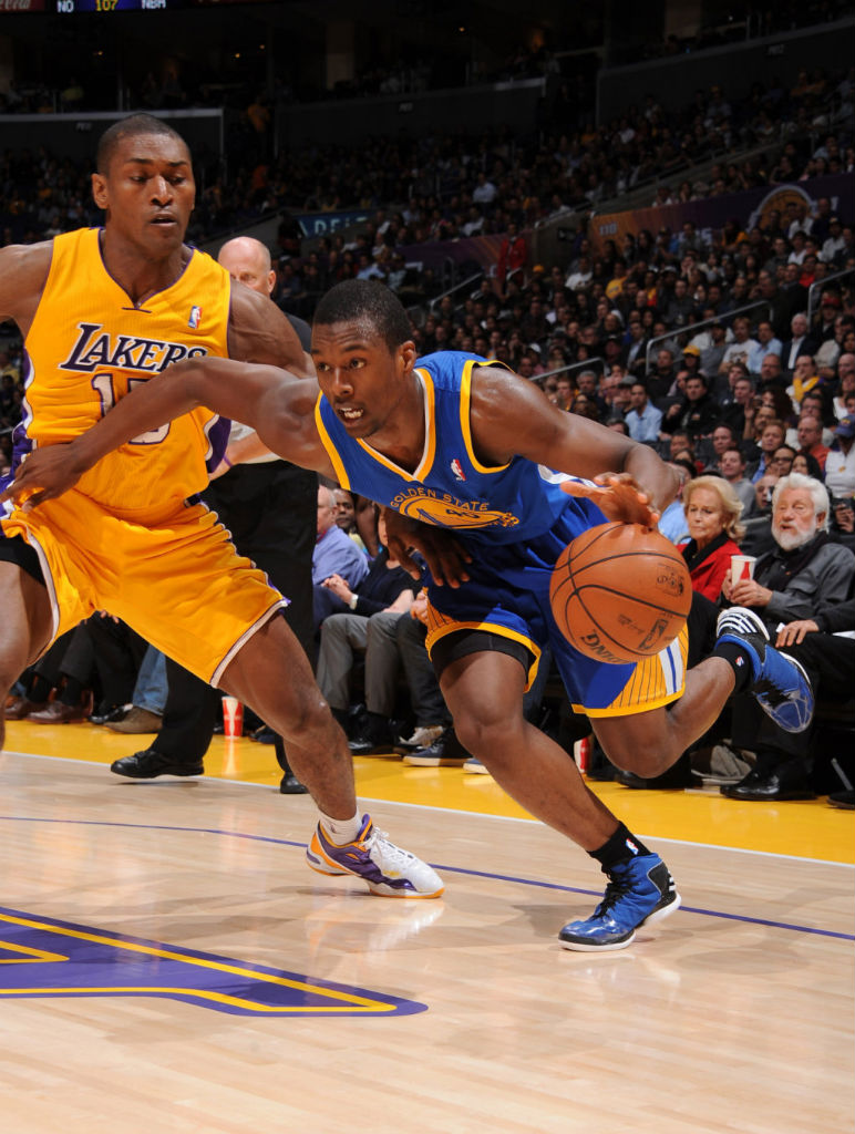 Harrison Barnes wearing adidas Rose 773