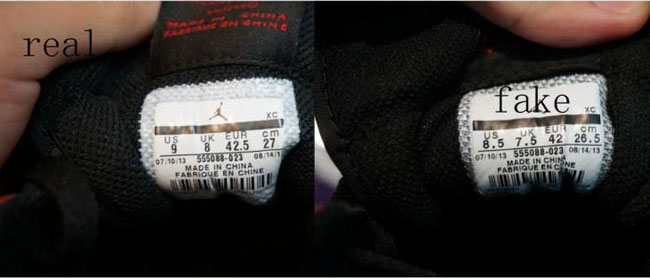 b2df6d17f32fd1 Check out this comparison of real and fake Air Jordan 1 High OGs.