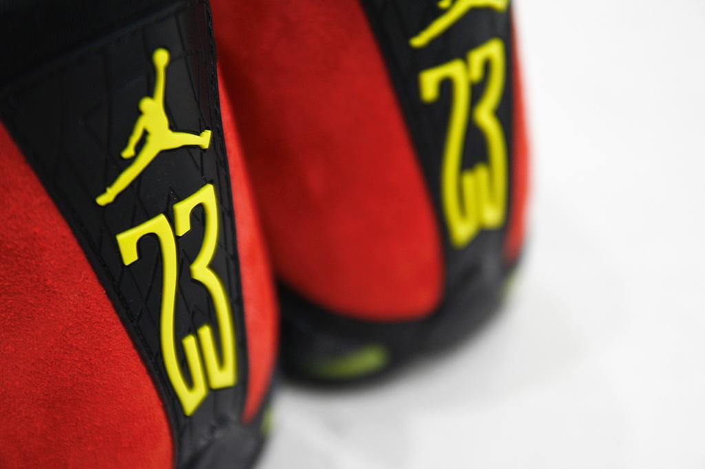 online store ec012 3eff4 A Detailed Look at the  Ferrari  Air Jordan 14 Retro   Sole Collector