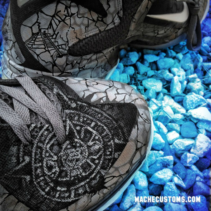 Nike LeBron 9 2012 Apocalypse by Mache Custom Kicks (3)