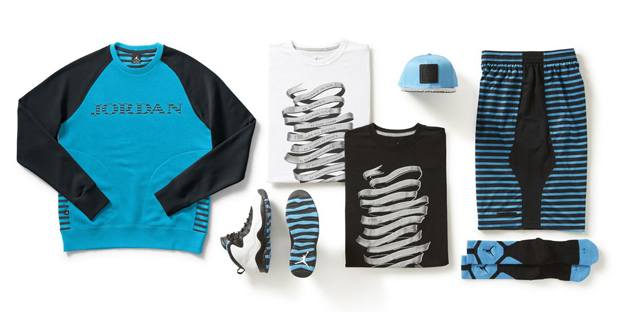 Air Jordan 10 Retro 'Powder Blue' Apparel Collection