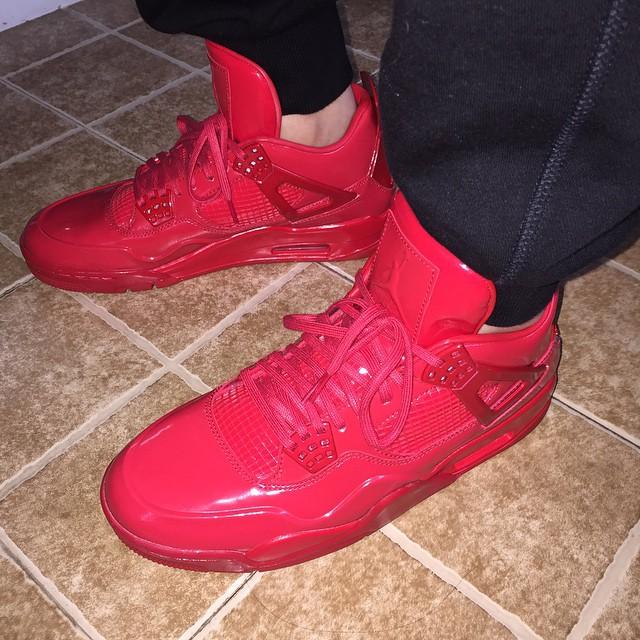 sports shoes 93180 8cebb Air Jordan 11Lab4 Red 719864-600 (13)