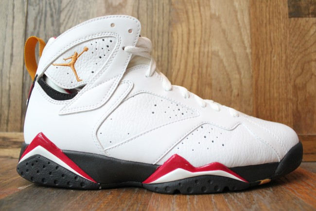 outlet store 51a82 84bc9 Air Jordan Retro 7 White Cardinal Red Bronze Black 304775-104