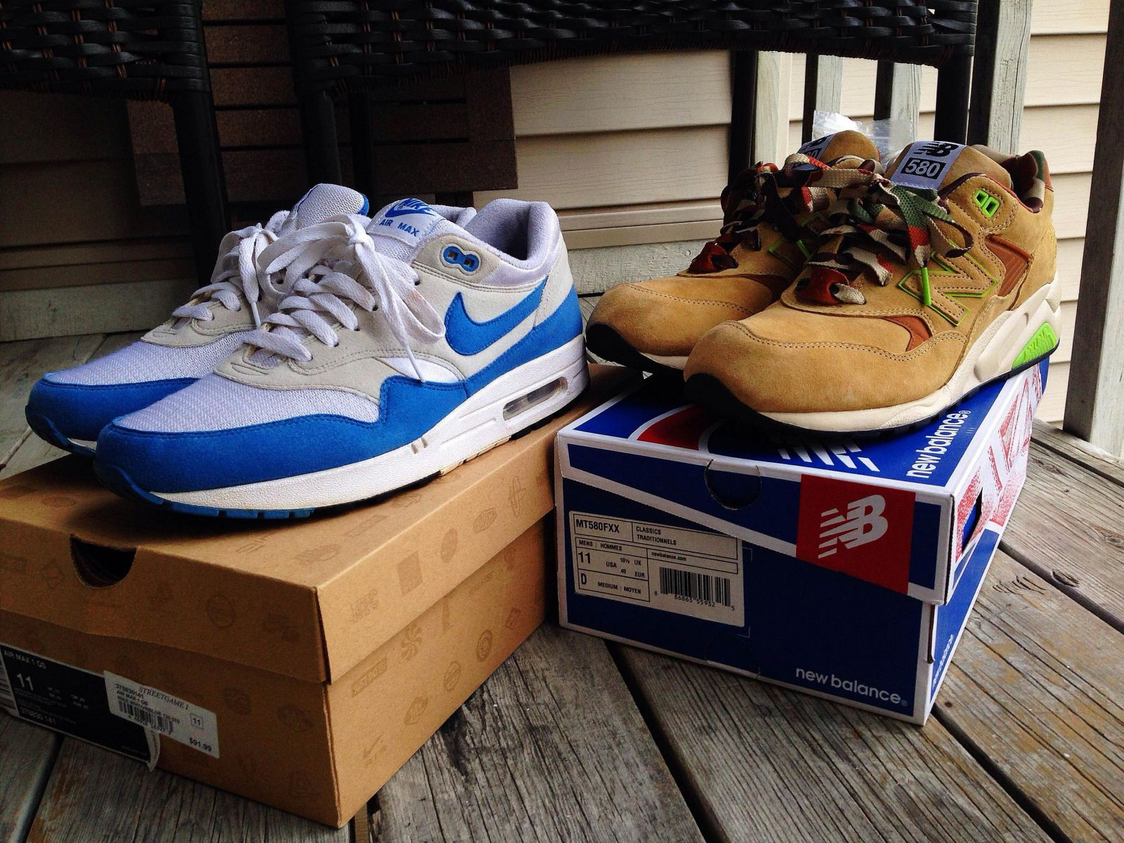 sports shoes beb20 dd87c ... nike air max 1 qs varsity blue 09 original retro .