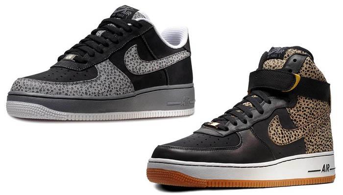 Nike Air Force 1 iD - Safari Options - April 2012  e5aa162cf