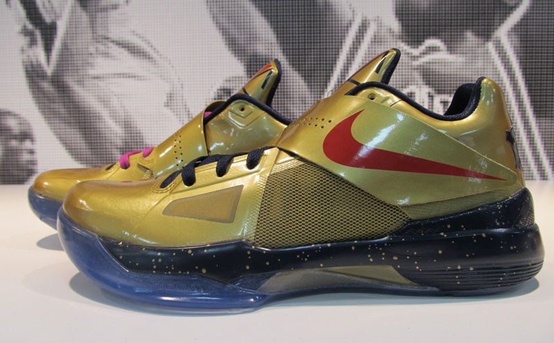 on sale a64bf cc5f3 Nike Zoom KD IV 4 Gold Medal (2)