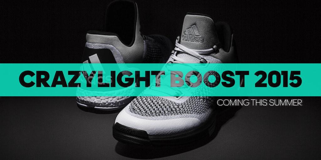 buy popular 311e7 6b5ae Andrew Wiggins Will Debut the adidas Crazylight Boost 2015 Tonight.  Primeknit meets Boost on adidas latest performance shoe.