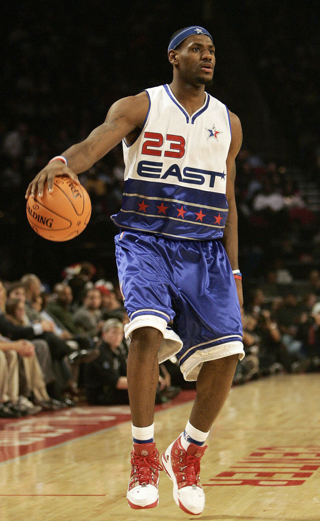 LeBron James, 2006 NBA All-Star Game MVP