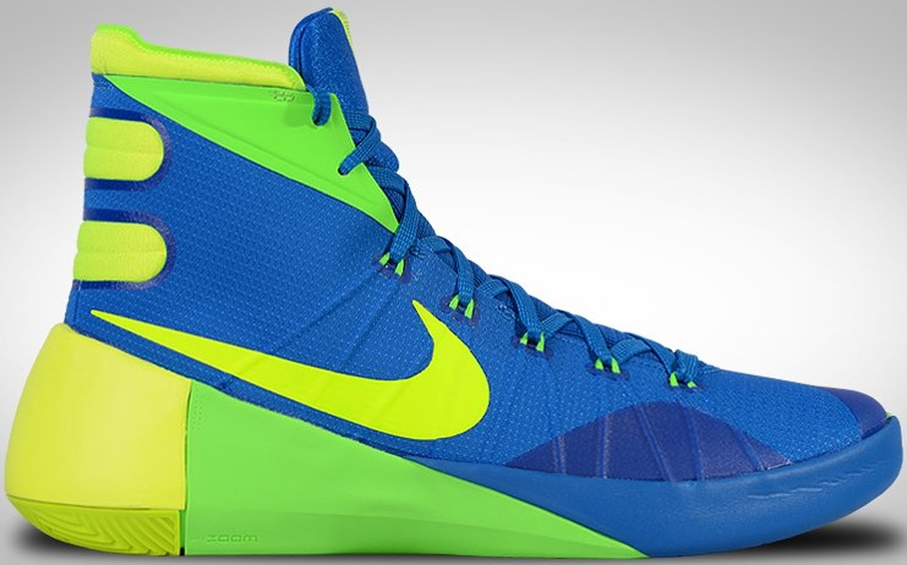 new styles a48be 1798b nike hyperdunk 2015 green and blue